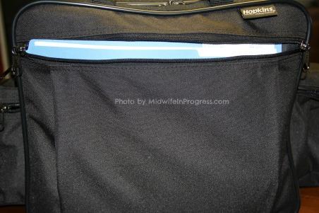 Bag with folder