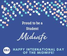 Proud to be a student midwife meme